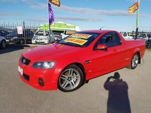 2012 Holden Commodore VE II MY12 SV6 Thunder Red 6 Speed Automatic Utility Officer Cardinia Area Preview