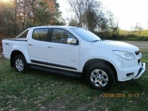 2012 Holden Colorado RG MY13 LTZ Crew Cab White 5 Speed Manual Utility Lucknow East Gippsland Preview
