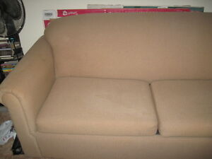 Brown Pull Out Couch