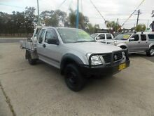 2003 Holden Rodeo RA LX Silver 5 Speed Manual Cab Chassis Cabramatta Fairfield Area Preview