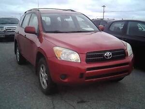 2007 TOYOTA RAV4 AUTOMATIUE CLIMATISEE 4CYLINDRES PROPRE