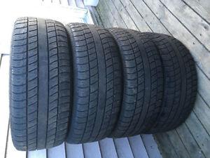 Four 205/55R16 Summer Tires