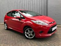 Ford Fiesta 1.6 TDCI 95 Zetec S, Diesel, Low Miles, Fabulous in Red with Bodystyling, £20 Road Tax
