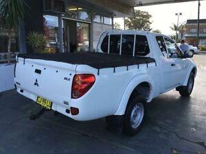 2012 Mitsubishi Triton MN MY12 GLX White 5 Speed Manual Utility Hamilton Newcastle Area Preview