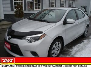 2015 Toyota Corolla LE All your's for $79.87 wkly on the road