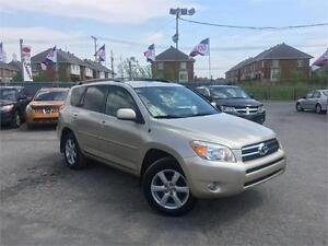 TOYOTA RAV4 LIMITED 2006 AUTO/AWD/MAGS/CRUISE/TOIT OUVRANT !!