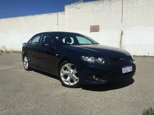 2012 Ford Falcon FG MK2 XR6 Blue 6 Speed Auto Seq Sportshift Sedan Beckenham Gosnells Area Preview
