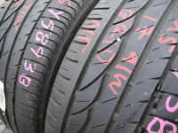 225/45/17 Bridgestone Turanza ER300 x2 A Pair, 5.8mm (168 High Road, Romford, RM6 6LU) Second Hand