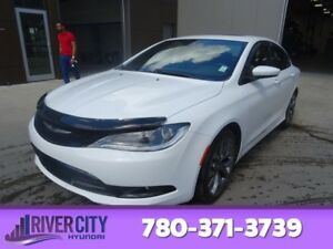 2016 Chrysler 200 S Leather,  Heated Seats,  Panoramic Roof,  Ba