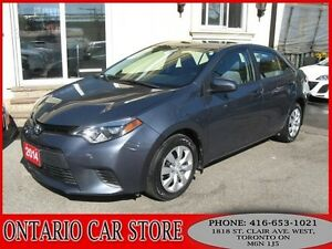 2014 Toyota Corolla LE !!!1 OWNER LOCAL ONTARIO CAR!!!