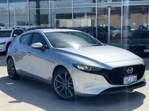 2019 Mazda 3 BP2H7A G20 SKYACTIV-Drive Touring Silver 6 Speed Sports Automatic Hatchback Palmyra Melville Area Preview