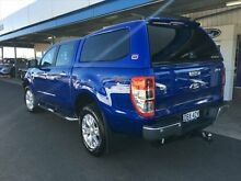 2014 Ford Ranger PX XLT 3.2 (4x4) Aurora Blue 6 Speed Automatic Dual Cab Utility Young Young Area Preview