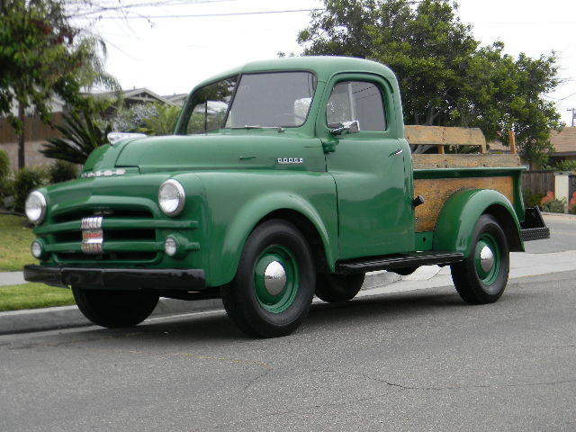 nice classic 1951 dodge job rated work truck flat head 6cyl rust free used dodge other. Black Bedroom Furniture Sets. Home Design Ideas