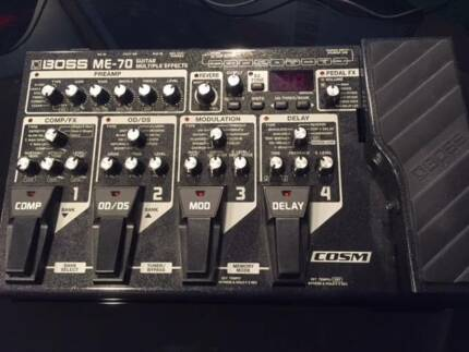 Boss ME70 Multi Effects pedal Wantirna South Knox Area Preview
