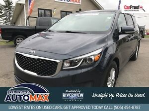 2017 Kia Sedona LX+Power Sliding Doors!Heated Seats!Backup Cam!