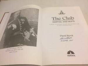 signed david brooks book Paralowie Salisbury Area Preview