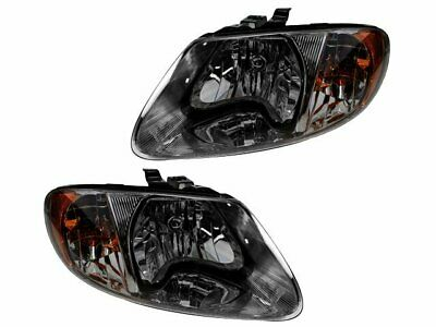 For 2001-2007 Dodge Grand Caravan Headlight Assembly Set 63448VR 2002 2003 2004