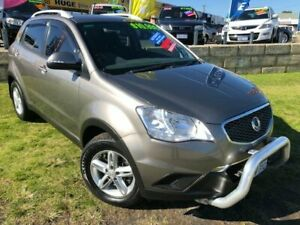 2011 Ssangyong Korando C200 S 2WD Grey 6 Speed Sports Automatic Wagon Wangara Wanneroo Area Preview