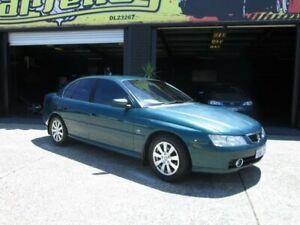 2004 Holden Berlina VY Blue 4 Speed Auto Active Select Sedan