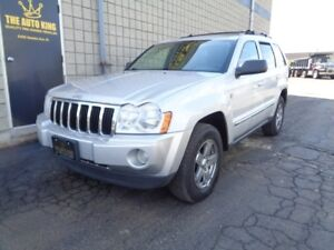 2007 Jeep Grand Cherokee LIMITED ----- NAVIGATION ----- LEATHER