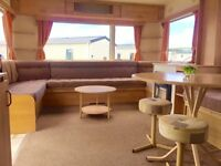 CHEAP STATIC CARAVAN HOLIDAY HOME FOR SALE EYEMOUTH, SCOTTISH BORDERS, FREE FEES 2016, NOT HAVEN