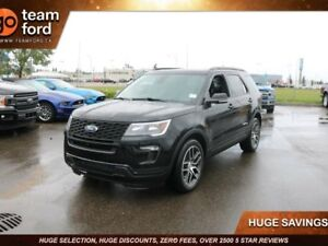 2018 Ford Explorer SPORT, 400A, 3.5L ECOBOOST, 4WD, SYNC3, NAV,
