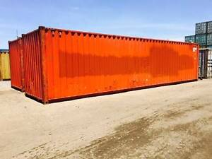 40ft High Cube Cargo Worthy Shipping Containers in Brisbane Hemmant Brisbane South East Preview
