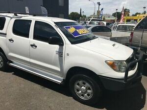 2008 Toyota Hilux KUN26R 08 Upgrade SR (4x4) 5 Speed Manual Dual Cab Pick-up Medindie Walkerville Area Preview