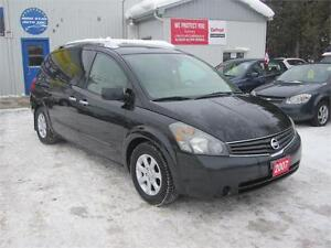 2007 Nissan Quest SL| MUST SEE| FULLY LOADED| NO ACCIDENTS