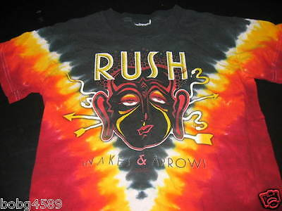 Rush Shirt, 2008 Tour, Children's Size Small