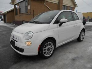 2015 FIAT 500 POP Automatic Power Sunroof Alloys ONLY 14,000KMs