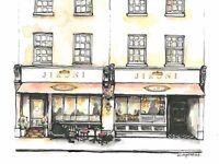 RESTAURANT RECEPTIONIST needed for New Restaurant in Marylebone, London