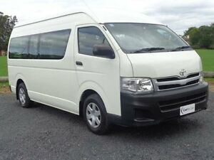 2011 Toyota Hiace TRH223R MY11 Commuter White 4 Speed Automatic 4D Bus Erina Gosford Area Preview