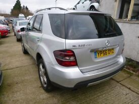 MERCEDES ML320 CDi SPORT - YP56OYZ - DIRECT FROM INS CO