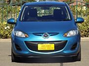 2011 Mazda 2 DE10Y1 MY10 Neo Blue 5 Speed Manual Hatchback Enfield Port Adelaide Area Preview
