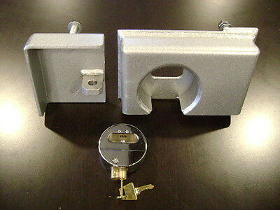 Hd Bolt On Shipping Container Security Lock Box With A Free Puck Lock Template
