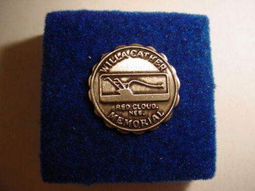 Willa Cather Memorial Vintage Lapel Pin