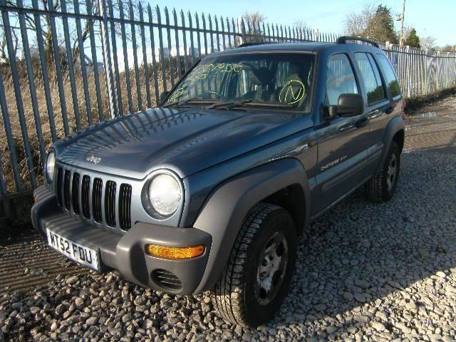 8d170274f8 2002 Jeep Cherokee 2.4 Sport Petrol - LOW MILES 52K - Breaking for Parts   1412