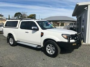 2010 Ford Ranger PK XLT (4x4) White 5 Speed Automatic Super Cab P/Up