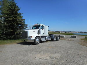 2012 Peterbilt daycab, 500 HP, 18 sp, Super 40's