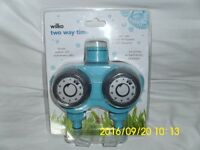 Wilko One Way Timer + Wilko Two Way Timer + Hose Spray Gun and 3 other pieces