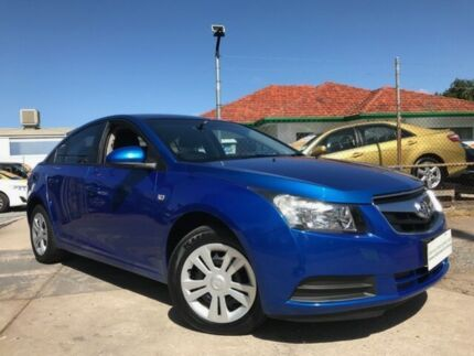 2010 Holden Cruze JG CD Blue 6 Speed Automatic Sedan Para Hills West Salisbury Area Preview