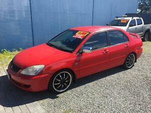 2007 Mitsubishi Lancer E.S MIVEC LIMINTED EDITION Red 5 Speed Manual Sedan