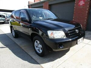 2005 Toyota Kluger MCU28R Upgrade CV (4x4) Black 5 Speed Automatic Wagon Holden Hill Tea Tree Gully Area Preview