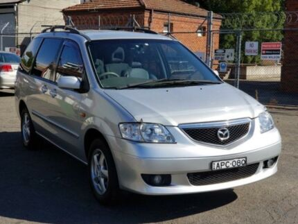 2003 Mazda MPV LWA2 Silver 5 Speed Automatic Wagon Granville Parramatta Area Preview