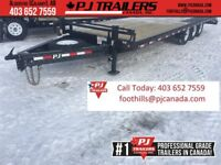 26' Deck over Trailer w/Monster Ramps 21000GVWR 90daysNoPayments Calgary Alberta Preview