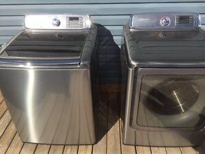 15 Mo Old top of line samsung washer/dryer