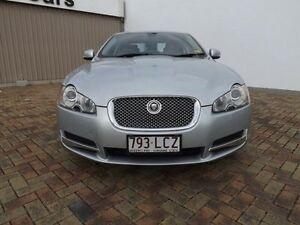 2008 Jaguar XF X250 Premium Luxury Silver 6 Speed Sports Automatic Sedan Parramatta Park Cairns City Preview