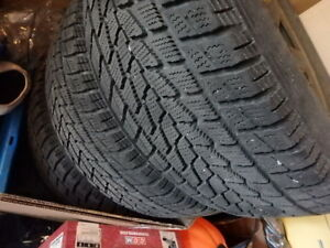 roues hiver 235/70R16 toyo open country