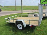NEW TRAILERS  GALVANIZED AND PAINTED